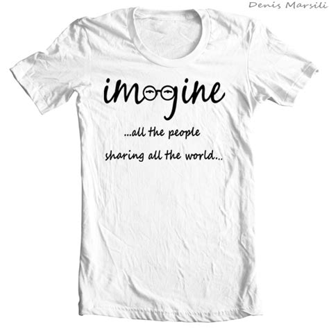 lennon imagine vector t shirt imagine lennon tribute t shirt collection on behance