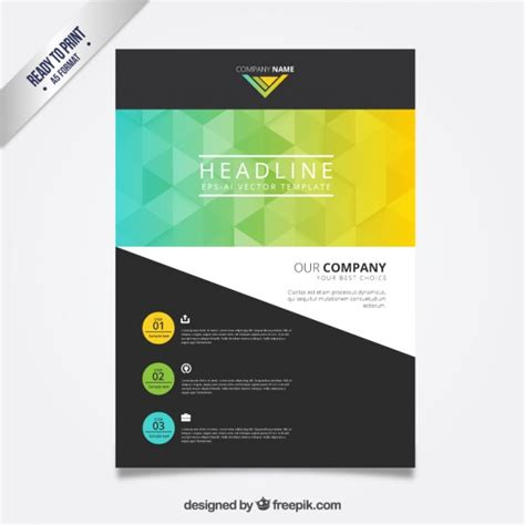 Business Flyer Template Vector Premium Download Posters Template