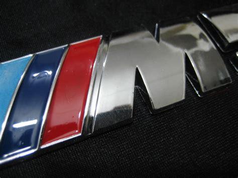 Emblem Bmw M Stick On Sticker bmw m5 emblem