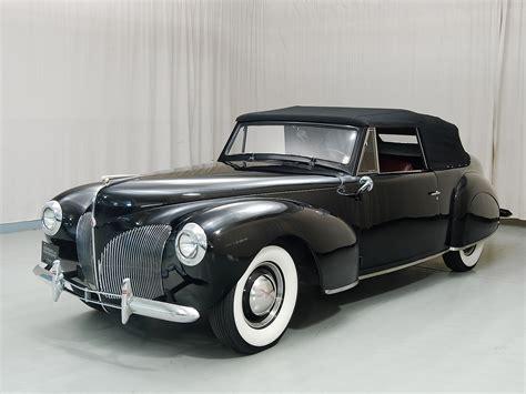1940 lincoln continental 1940 lincoln continental convertible hyman ltd classic cars