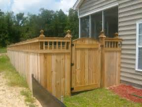spindle lattice moss grove fence gate design custom moncks