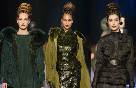 Runway Hair Trends With Jimmy Paul by Jean Paul Gaultier Provocative Braids Hairstyles 2017