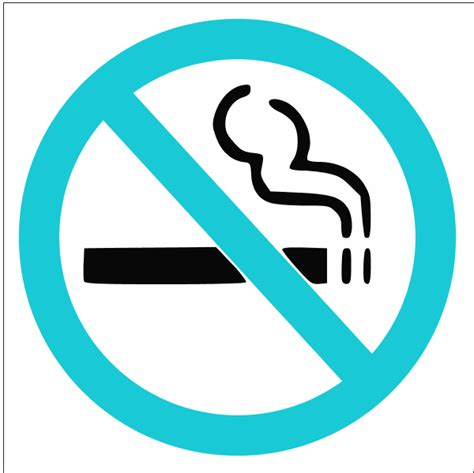 no smoking sign blue no smoking sign clip art cliparts co