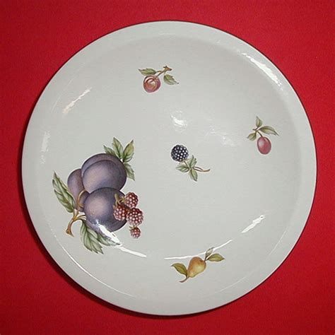China Pattern Wedgwood China Fruit Sprays China Dinnerware Pattern