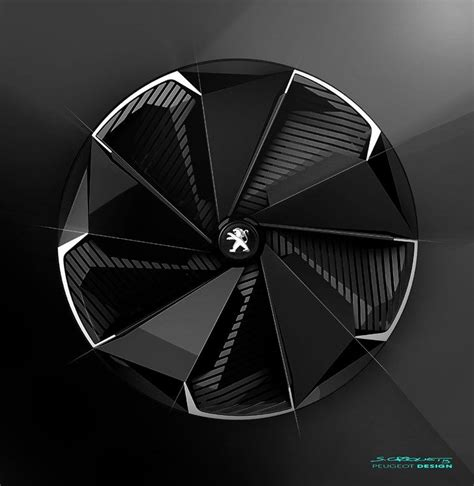peugeot car wheels peugeot fractal design development 25 explore