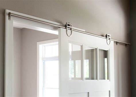Barn Door On Track Barn Door Hardware Barn Door Hardware Track