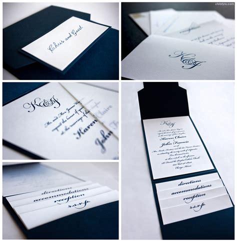 Hochzeitseinladungen Einfach by Simple Yet Wedding Invitation Put On Your Typeface