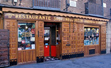 how is the oldest in the world oldest restaurant in the world restaurante sobrino de botin travelever