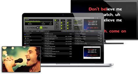 best karaoke software for mac karaoke software for mac lyrx 1 02 is now available pcdj