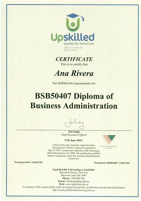 Liberty Mba Degree Completion Plan by Business Administration Business Administration Certificate