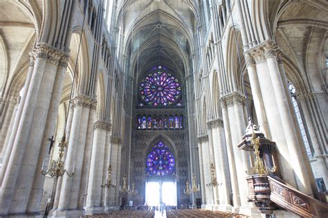Cathedral Interior by Reims Cathedral Interior Flickr Photo