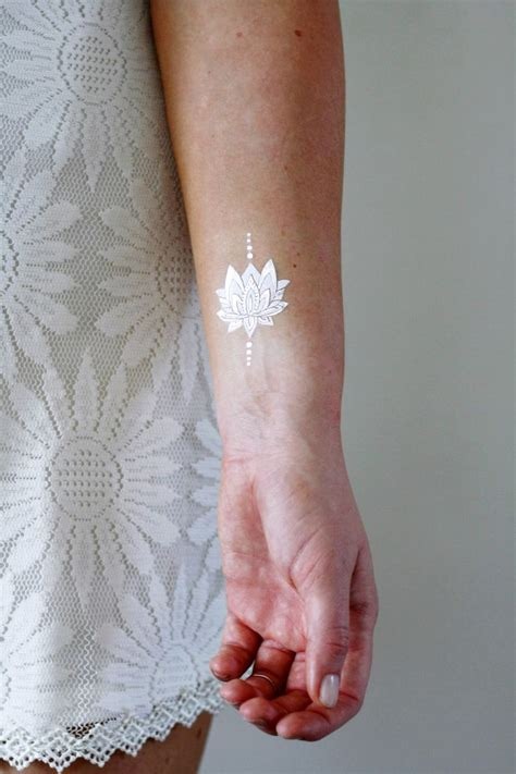 white temporary tattoo best 25 white ink tattoos ideas on white ink