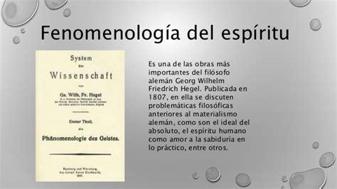 fenomenologia del espiritu fenomenologia 1517320909 presentaci 243 n fenomenologia