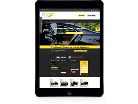 limousine website limousine web design limo web site design