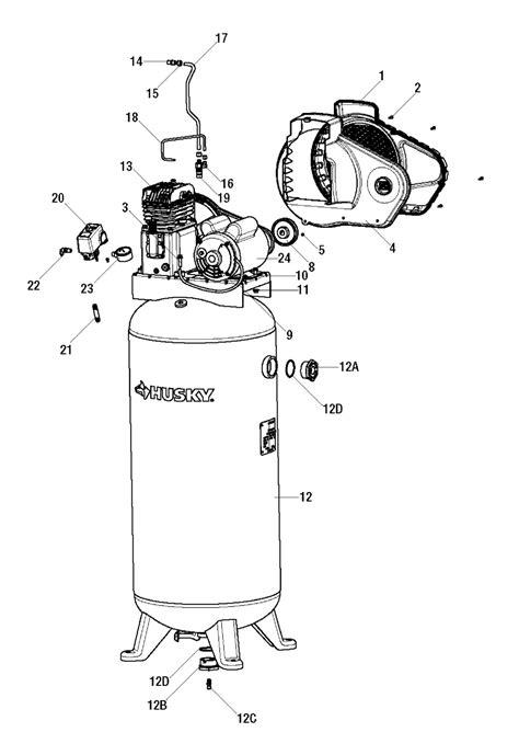 husky air compressor model c601h wiring diagram free