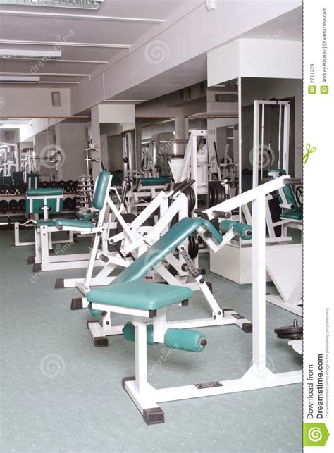 exercise equipment in bedroom exercise room and equipment royalty free stock photos image 2711228