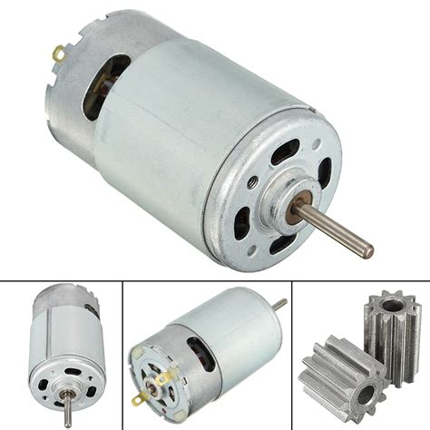 12v 30000 rpm 10 teeth electric motor gear for ride on bike parts new cad 11 19