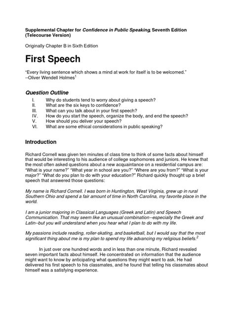 templates for introducing what they say my self intro format public speaking classroom