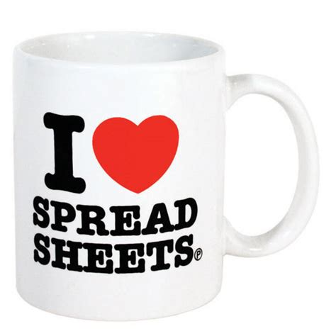 I Spreadsheets Mug by I Spreadsheets Mug Iwoot