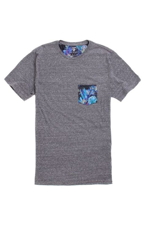 Tshirt Hurley 359 Grey on the byas grant pocket crew pacsun pacsunmens