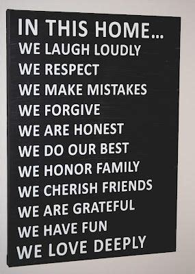 printable house rules poem 25 best ideas about family motto on pinterest golden