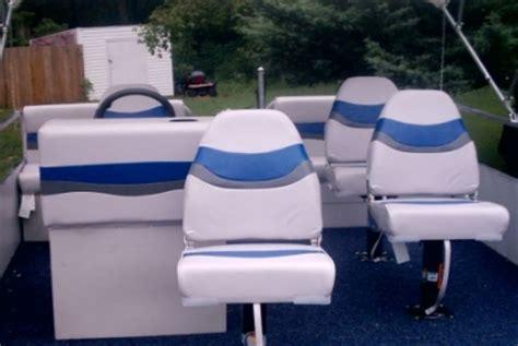 pontoon boat seats wholesale brand new 8 ft x 16 ft pontoon boat w seats trailer
