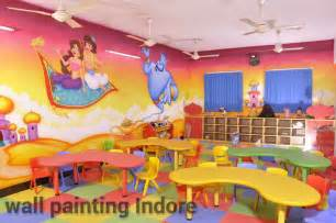 painting for play gallery play school wall painting indore
