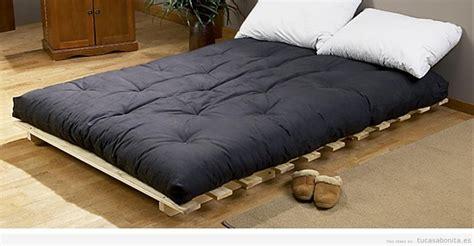 6 Futon Mattress by Camas Estilo Japon 233 S Con Fut 243 N Para El Dormitorio De