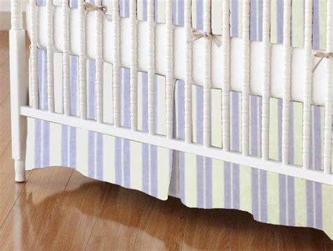 Mini Crib Skirt Mini Crib Skirt Lavender Dual Stripe Mini Crib Skirts Sheets Sheetworld