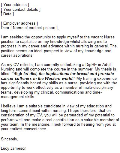 student services cover letter cv template uk nursing