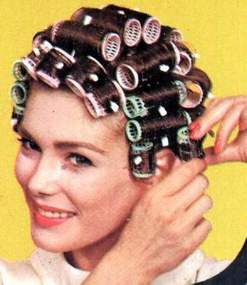 how to set hair with rollers for a pixie cut beautiful plastic brush roller set flickr photo sharing