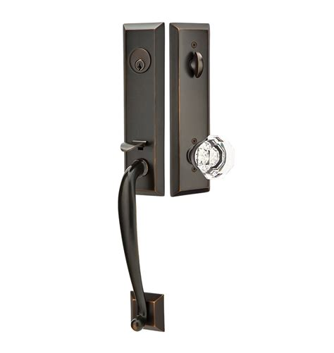exterior tubelatch door set with town knob