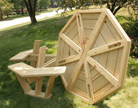 picnic table plans octagon   woodworking