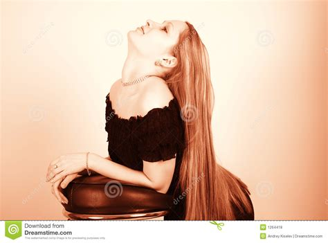 long hair stock photos royalty free images vectors long hair royalty free stock photos image 1264418