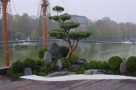 japanischer garten aufbau japan garten auf terrasse asian landscape hanover
