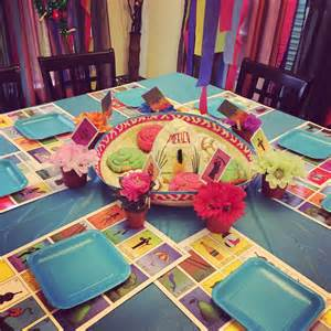 little decorations loteria party decor little posh events