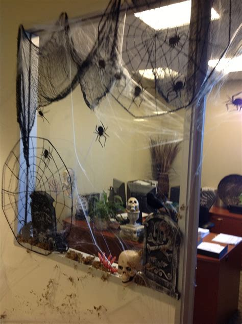 halloween decorating themes office office window halloween decorating halloween pinterest