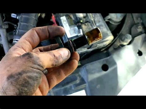 crankshaft position sensor  chevy cavalier youtube