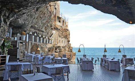 the cliff restaurant italy um restaurante na gruta it 225 lia