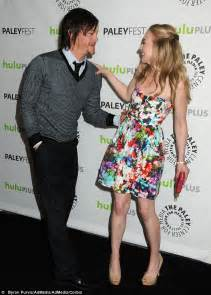 emily kinney real age the walking dead s norman reedus notdating emily kinney