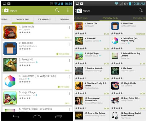 Play Store Version History Play Store 4 0 What S New