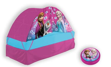 frozen bed tent disney frozen bed tent groupon goods