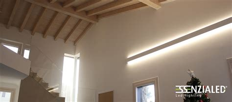 illuminazione parete led righello lada a parete led prodotta su misura