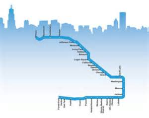 Chicago Blue Line Map by Blue Line Chicago Map Pictures To Pin On Pinterest Pinsdaddy
