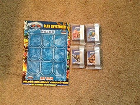 Kaos Baper Everyday skylanders trap team skystone smash collectors card 4