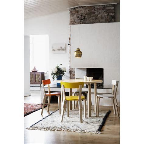 alvar aalto sedie artek sedia aalto 69 gialla design shop