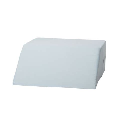 mabis dmi healthcare ortho bed wedge pillow 10 quot x 20 quot x 30 1 2 quot extra large blue cover image for mabis dmi ortho bed wedge model 834 0072