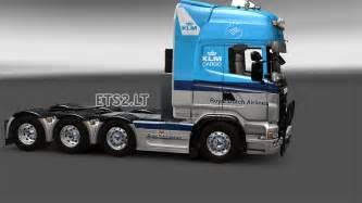 Awesome Game Room - klm skin for scania ets 2 mods