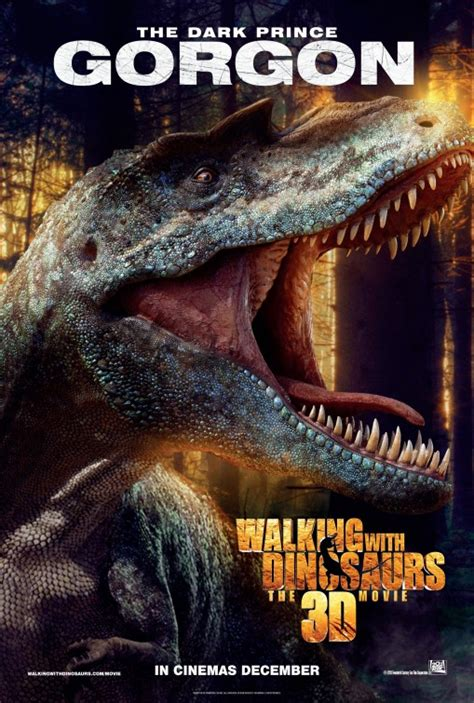 Poster A3 The Dinosaurs Ver 3 walking with dinosaurs 3d poster 7 of 17 imp awards