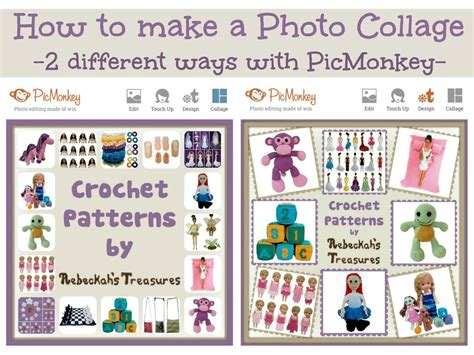 creative ways to make picture collages how to make a photo collage on picmonkey 2 ways